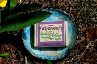 Patchouly natural organic sunflower soap