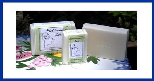 Med Spa Olive Oil Soap Mediterranean