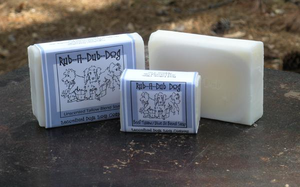 Rub-a-Dub Dog soap for dogs